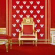 Throne of Polish king — Stock Photo #2422891