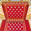 Throne of Polish king - canopy — Stock Photo