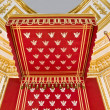 Throne of Polish king-detail. — Stock Photo
