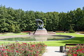 Monument of Frederick Chopin — Stock Photo
