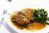 Chicken a la provencal — Stock Photo