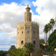 Torre del Oro in Sevilla — Stock Photo