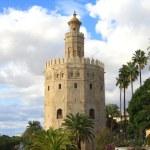 Torre del Oro in Sevilla — Stock Photo