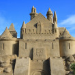 Sand Castle in Lappeenranta — Stock Photo