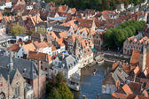 Bruges panorama view — Stock Photo