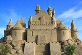 Sand Castle in Lappeenranta — Stock Photo