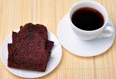 Coffee and cake — Stock Photo
