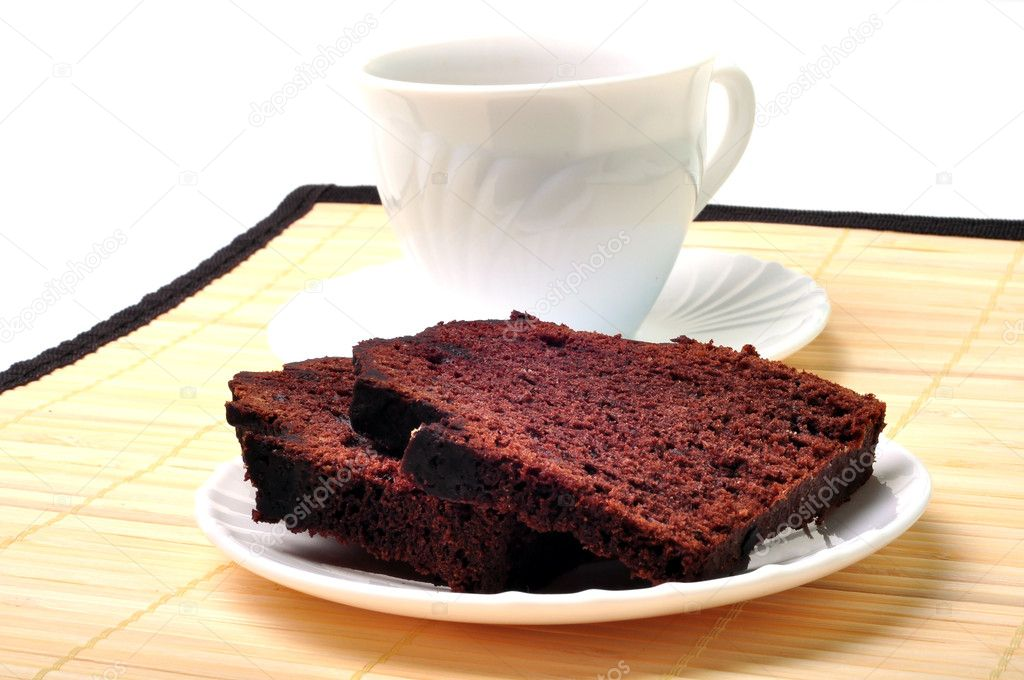 Coffee and cake — Stock Photo #1908433
