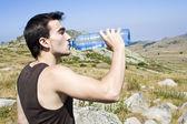 Drinking water — Foto Stock