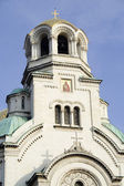 Detail of cathedral in Bulgaria — Stock Photo