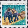 Royalty-Free Stock Photo: Vietnam Post stamp