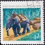 Vietnam Post stamp — Stock Photo #2003071