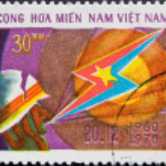 Vietnam Post stamp — Stock Photo #2003096