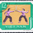 Vietnam Post stamp - Stock Photo