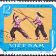 Vietnam Post stamp — Stock Photo #2003574