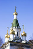 Russian Church in Sofia — Stock Photo