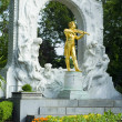 Johann Strauss - Vienna — Stock Photo