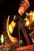 Vienna riesenrad (Feris wheel) by night — Stock Photo