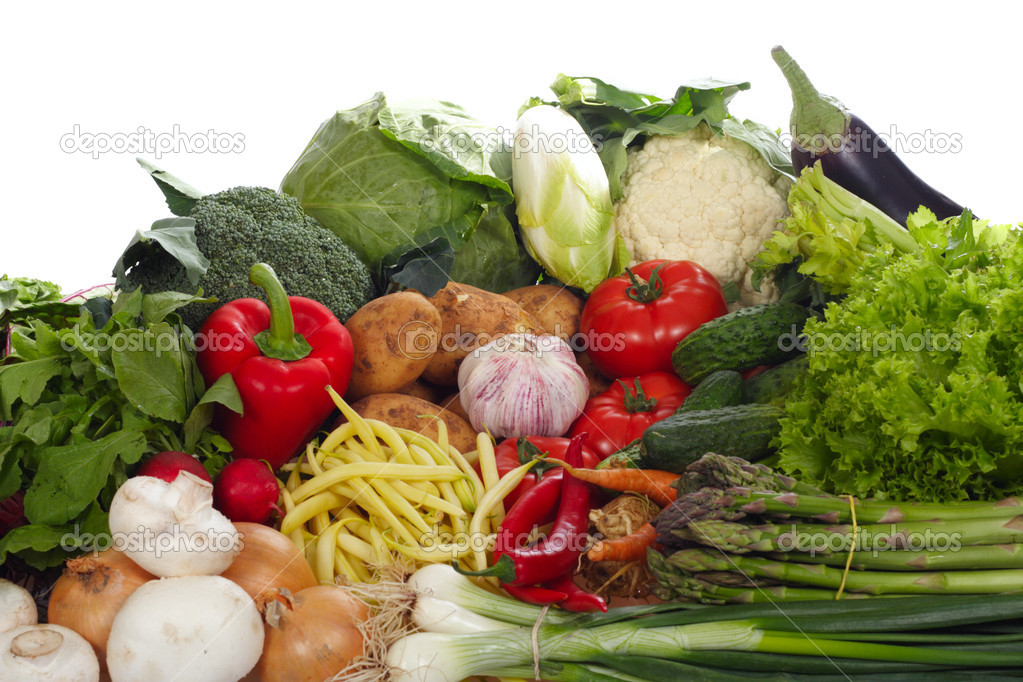 Fresh Vegetables, ingredients of food — Stock Photo #1862071