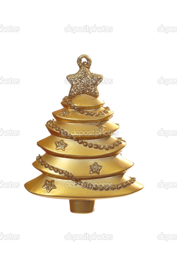 Christmas Decoration photo on the white background  Stockfoto #1909596