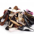 Heap of shoes — Stock Photo