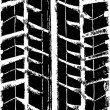 Royalty-Free Stock Vectorielle: Trace of the tire