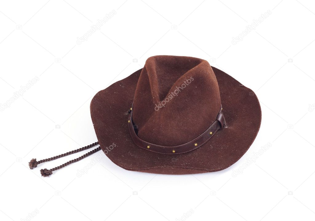 Cowboy hat on white background photo stetson  Stock Photo #2551972