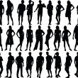 human figures - high quality — Stock Vector