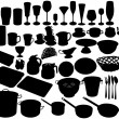 Kitchen accessories - Stock Vector