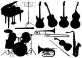 Music instrument - set — Stock Vector