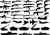 Military set — Stock Vector