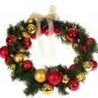 Christmas wreath — Stock Photo #2584532