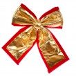 Golden bow — Stock Photo #2584955
