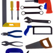 Stock Photo: Set tool