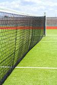 网球领域 — 图库照片