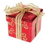 Christmas gift box — Stock Photo #2600089
