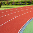 Track on the stadium - Stock Photo