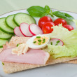 Dietetic sandwich — Stock Photo #2617172