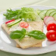 Dietetic sandwich — Stock Photo #2617222