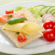 Dietetic Sandwich — Stock Photo #2617283