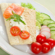 Dietetic sandwich — Stock Photo #2617284