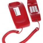 Red telephone — Stock Photo #2617735