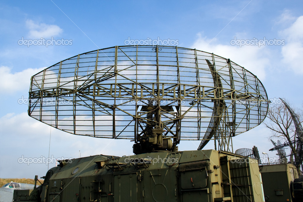 Military radar station  Stock Photo #2613515