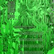 Green circuit board — Stock Photo #2620649
