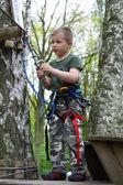 Mountain-climbing — Stock Photo