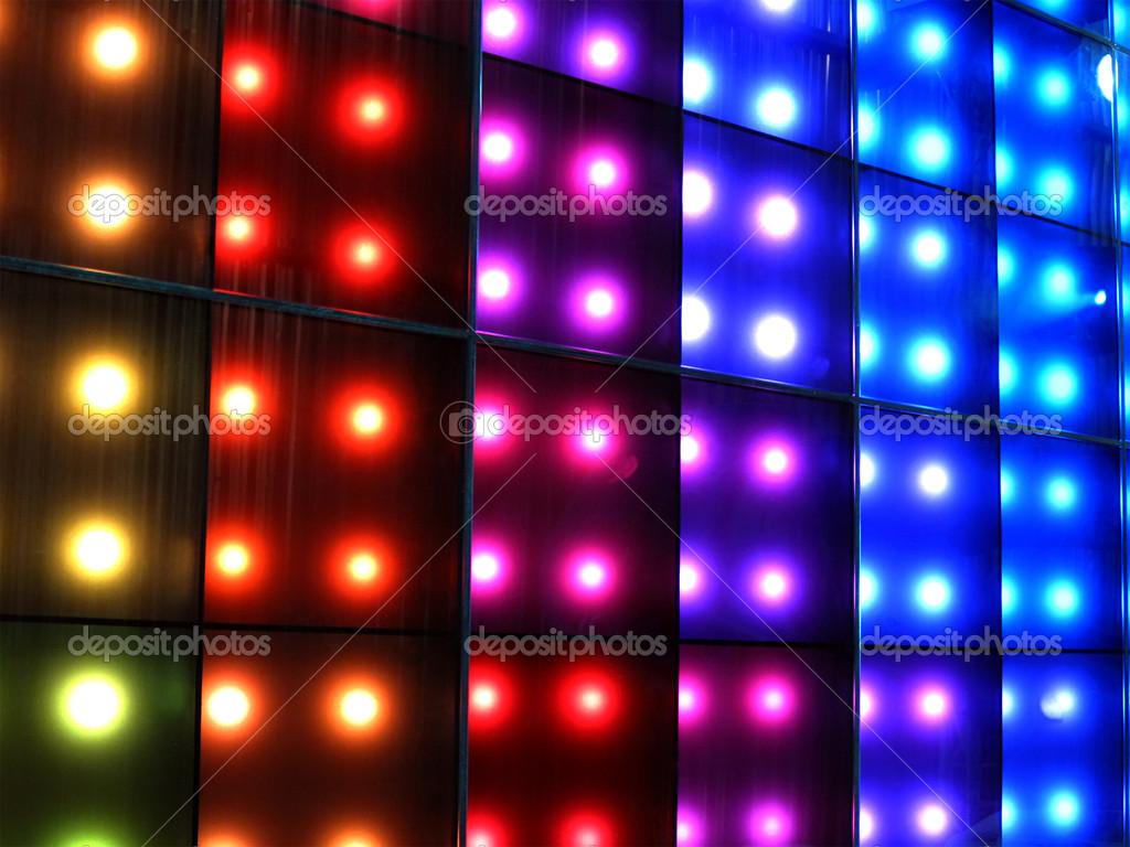 Light Colors Background Colorful Disco Party Lighting