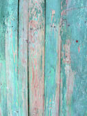 Vintage green wood wall — Stock Photo