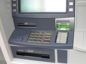 Atm money machine, automated cash point — Stock Photo