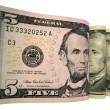 Us dollars, banknotes, money, currency — Stock Photo