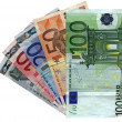 Different colorful euro isolated,savings — Stock Photo #2183852
